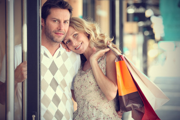 man-and-woman-shopping-portrait